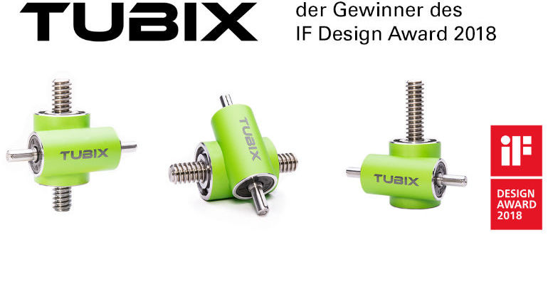 TUBIX worm gear screw jacks in various design versions
