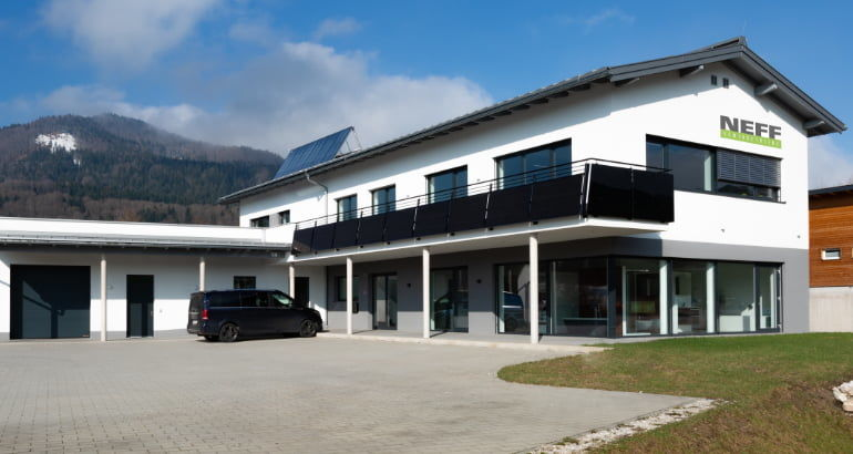 NEFF Gewindetriebe GmbH branch office in Oberwang/Austria