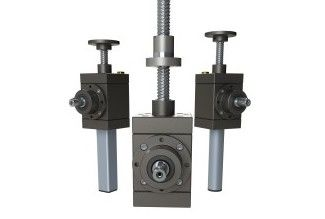 High Speed Screw Jacks G-Series, Version N - Lifting Screw, Version R - Rotating screw, Version VK - lifting screw with anti turn device