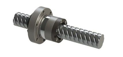 Ball screw drive, consisting of a flanged ball nut KGF and a ball screw KGS
