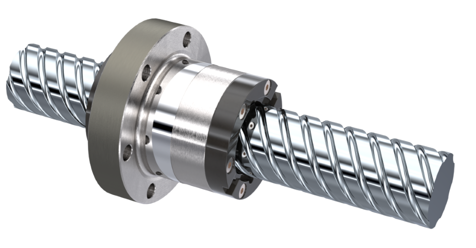 Ball screw drive KGT consisting of a ball screw KGS and a flanged ball nut KGF